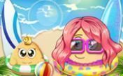 Pou Summer Break